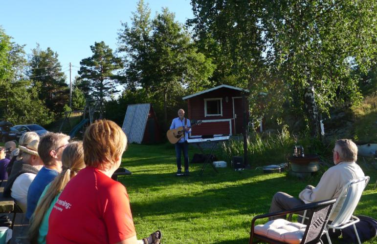 Minikonsert i Arendal