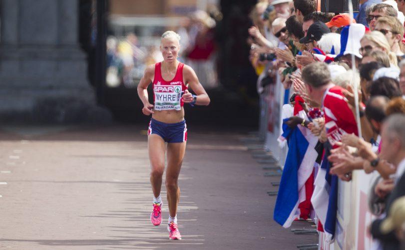 MARATON MED EIT MÅL FOR AUGE: 21. mai spring Marthe Kristine Myhre maraton i København med eit mål for auge; VM-kravet.