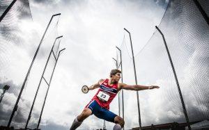 Sven Martin Skagestad hadde ikkje toppforma inne under VM i London, men har fleire gode prestasjonar bak seg i år og er eit talent vi garantert vil høyra mykje frå i åra framover. Foto: Eirik Førde