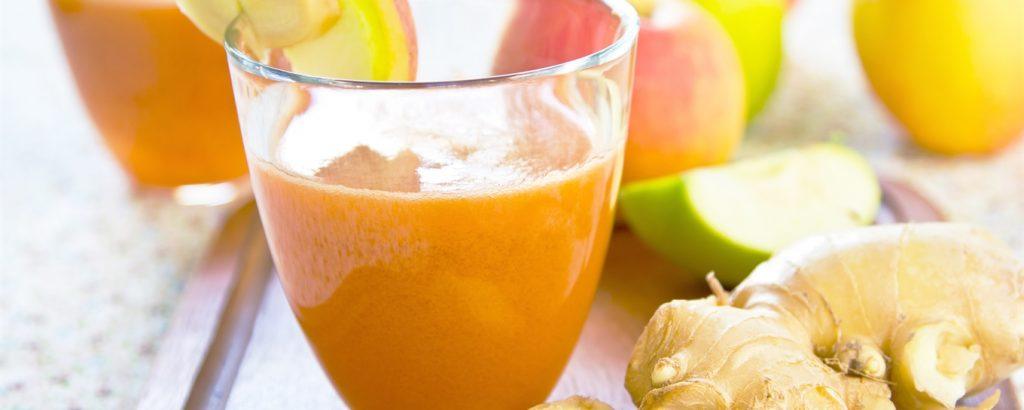 Eple og gulrot