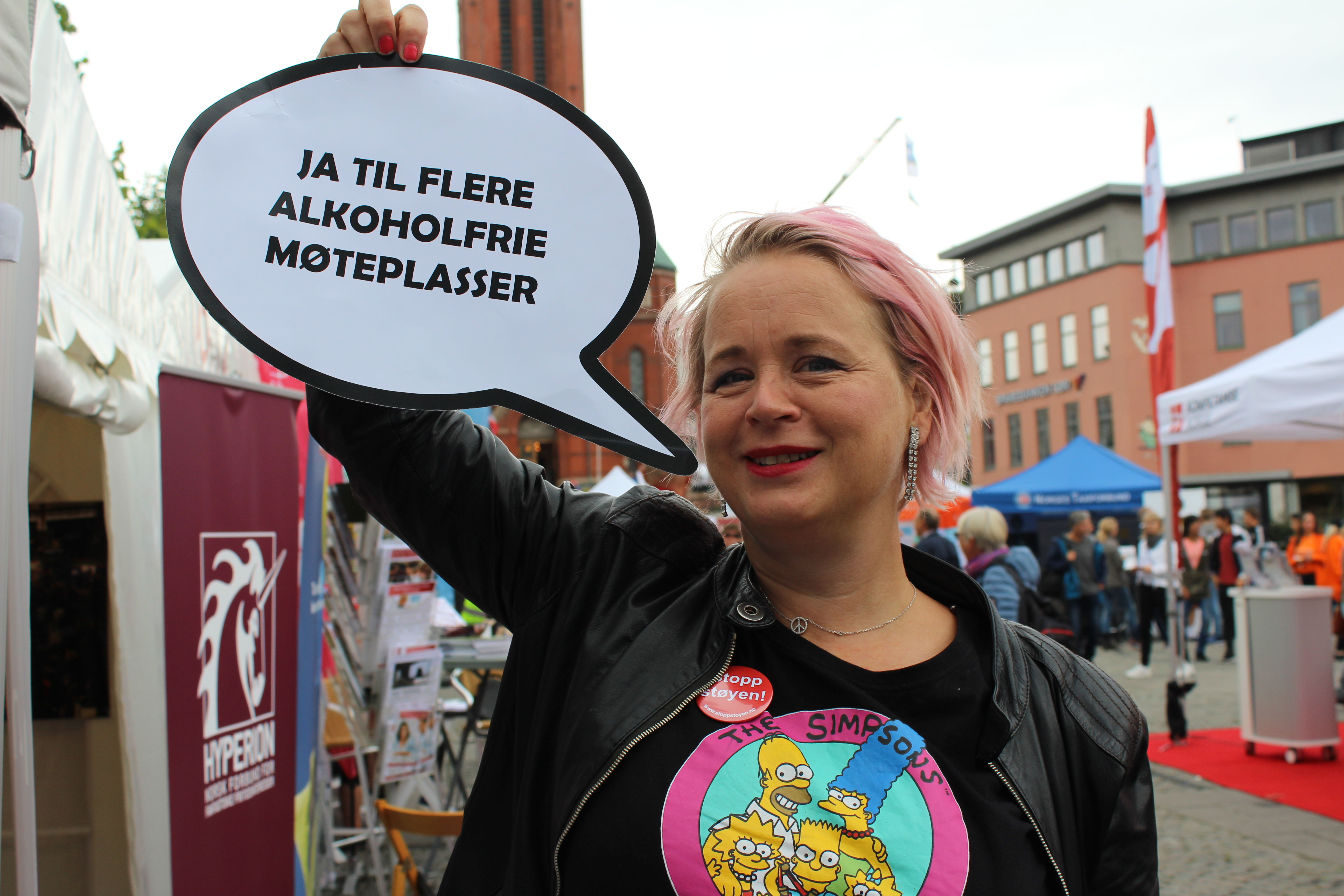 Elisabeth Kristiansen i Arendal. Foto: DNT-Edru Livsstil