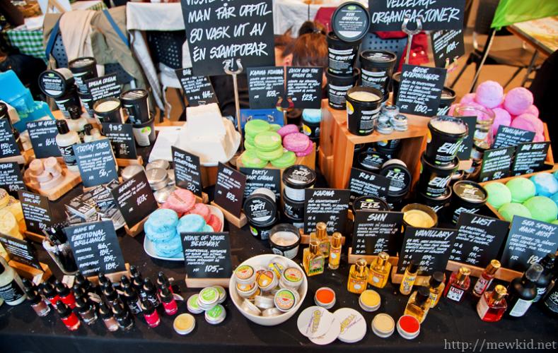 Produkter fra Oslo Vegetarfestival 2017.