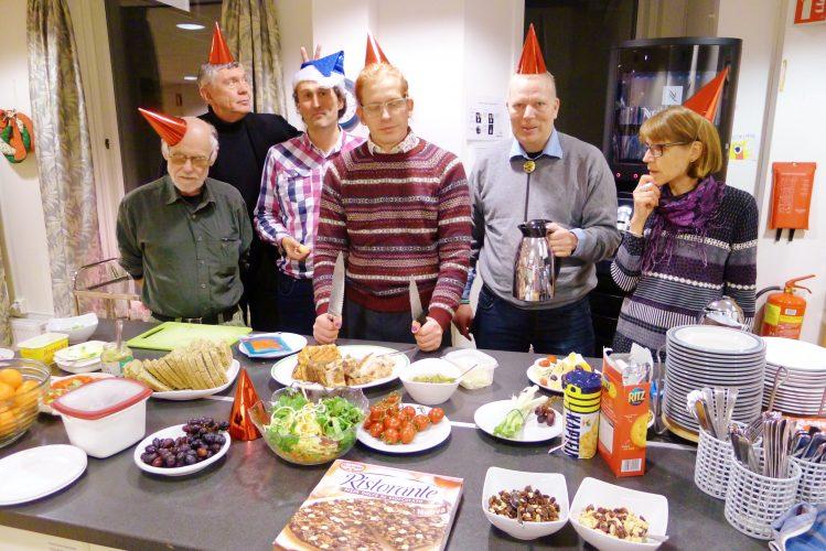 FMR og Edru Livsstil Oslo+ på julebord. Foto: E. Kristiansen