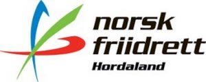 Hordaland friidrettskrets sin logo